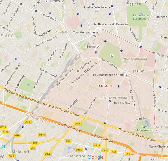 14e arrondissement - Puur Parijs