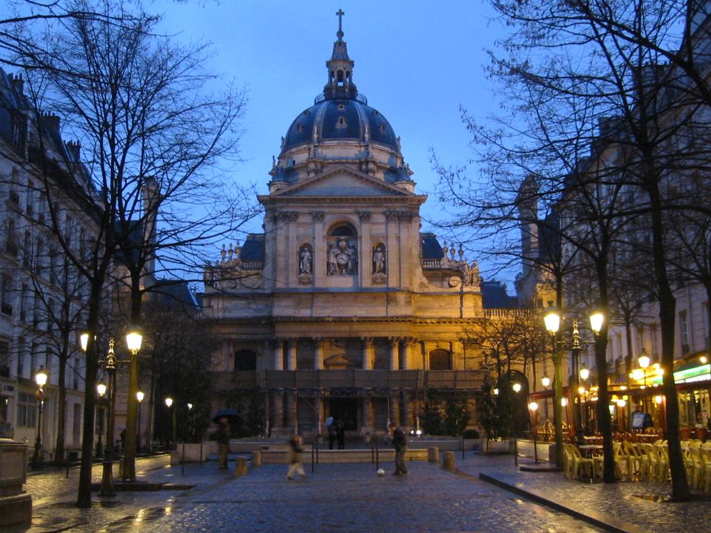 La Sorbonne - Quartier Latin - Puur Parijs