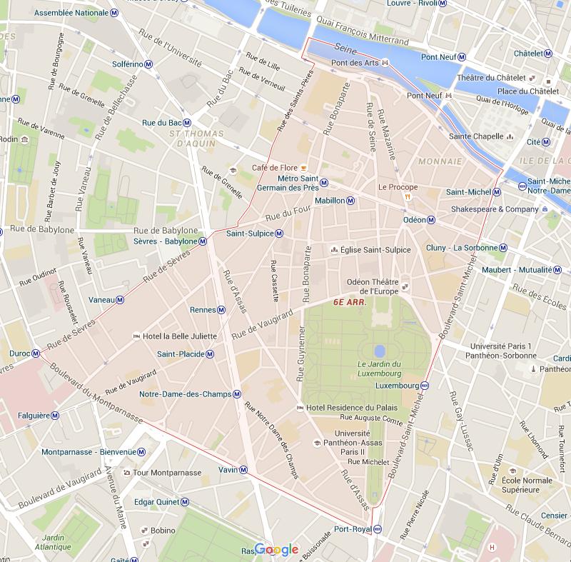 6e arrondissement - Puur Parijs