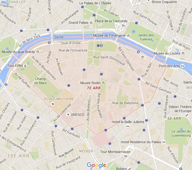 7e arrondissement - Puur Parijs