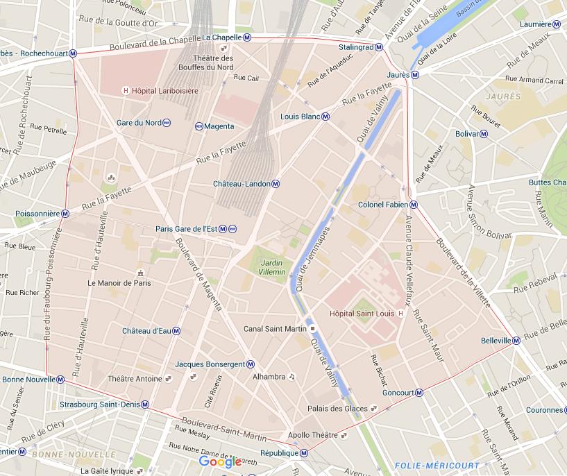 10e arrondissement - Puur Parijs