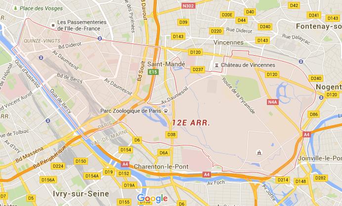 12e arrondissement - Puur Parijs