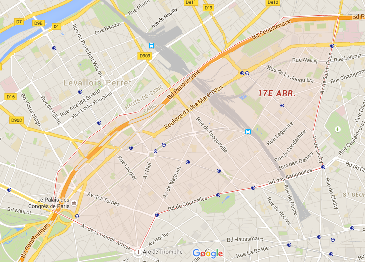 17e arrondissement - Puur Parijs