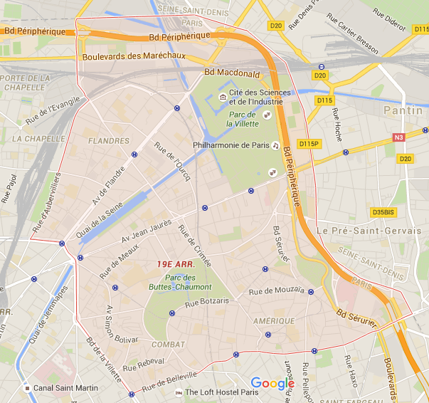 19e arrondissement - Puur Parijs