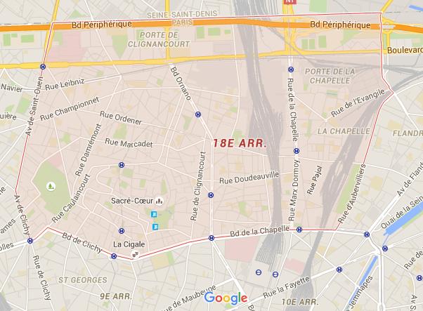 18e arrondissement - Puur Parijs