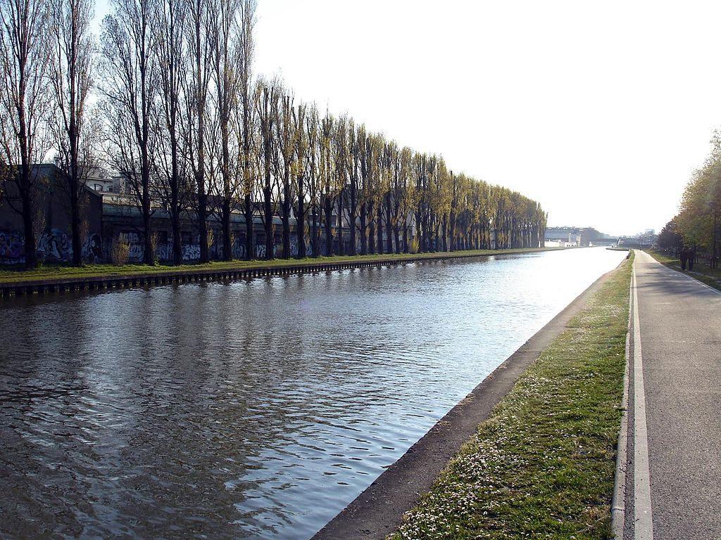 Canal de 'l Ourcq au parc de la Bergere - foto Clicouris