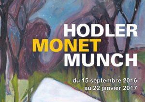 HODLER, MONET, MUNCH