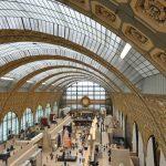 Hal van het Musée d'Orsay in Parijs