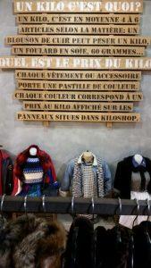 Een friperie in Parijs