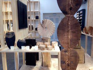 Kunstwerken in Empreintes, een conceptstore in Parijs