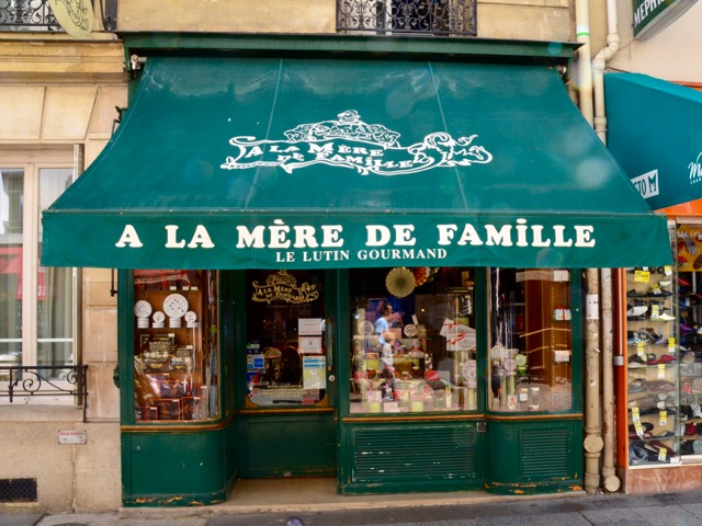 snoepwinkel in rue cler