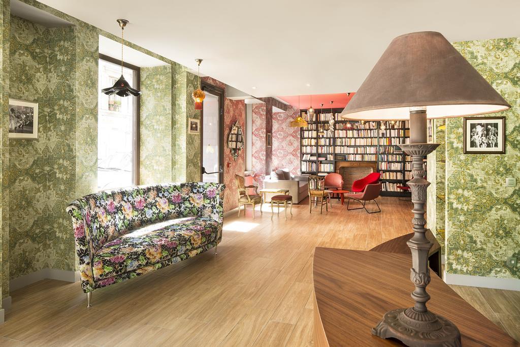 Hotel Josephine lobby Puur Parijs