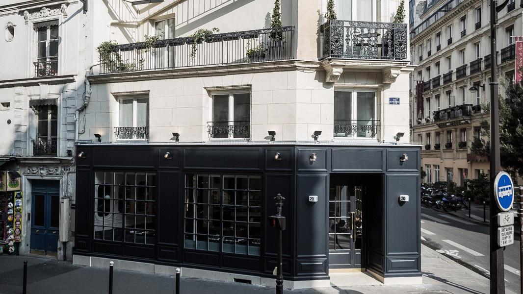 Hotel Panache buiten voorkant Puur Parijs